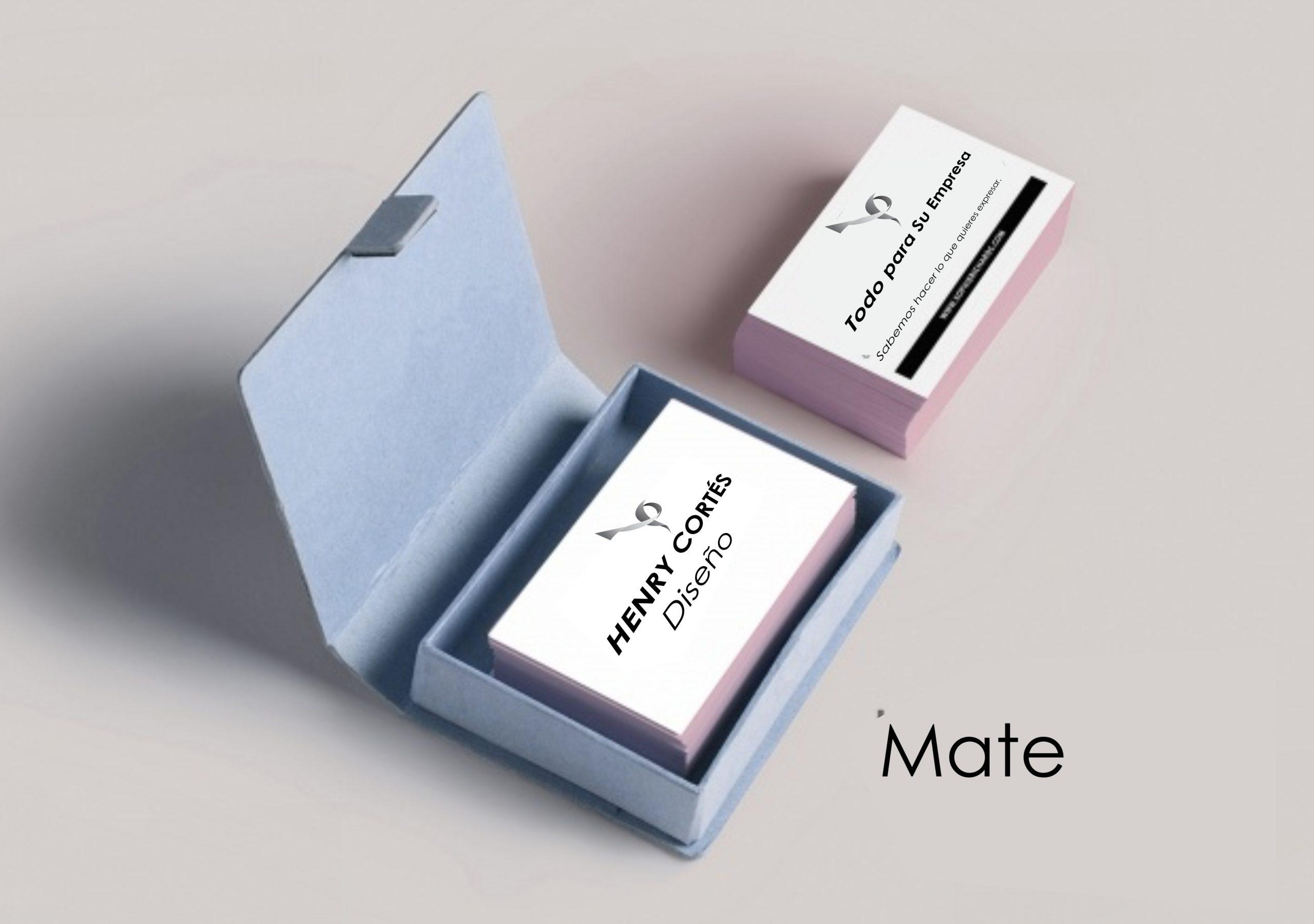 Tarjeta Mate